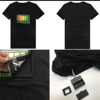 Used LED light men's T-Shirt size XL in Dubai, UAE