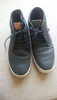 Used ALDO black leather man shoes size 43 in Dubai, UAE
