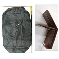 Travel bag plus wallet for free