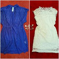 Summer Dress And 1 Swimsuit Cover Up ; Used Once Only