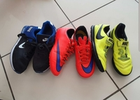 Used Nike shoes 3 pairs size 35 in Dubai, UAE