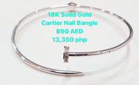 Used 18Gold Bangle in Dubai, UAE