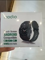 Used .smart watch n.ew.. silver. in Dubai, UAE