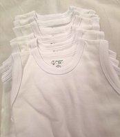 Used 6x Baby bodysuit %100 cotton 6-12months in Dubai, UAE