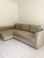 Used 3 seat sofa/couch bed  in Dubai, UAE