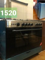 Used Gass oven 5 burner , New and Very Clean in Dubai, UAE