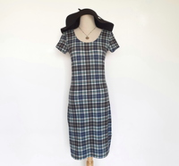 Used Checkered dress - Small in Dubai, UAE