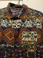 New casual colorful shirt for him size M