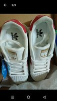 Used White/Red SS Adidas Shoes - Premium Copy in Dubai, UAE