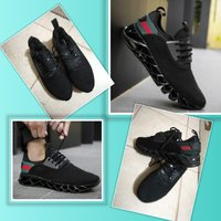 Used New black Gucci inspired shoes size 42 in Dubai, UAE