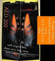 Used Adidas men's football studs in Dubai, UAE
