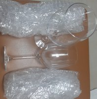 Used Glass/water goblets/ 4pcs set/new in Dubai, UAE