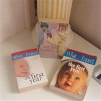 """3 Books""""What To expect The First Year Books"""
