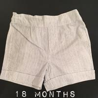 Used Navy And White Stripes Shorts. New. Never Worn. European Handmade Brand. Sz 18 Months. in Dubai, UAE