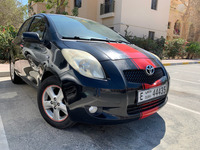 Used Top Range Toyota Yaris Black Red In Very Good Conditions And No Accident  in Dubai, UAE