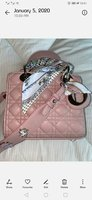Used Dior lady bag high replica in Dubai, UAE