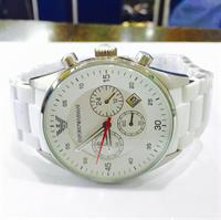 Used Armani Brand New Replica High Quality Matt White Colour Mettal Rubber Covering Strap Good Quality Hurry!!!!!! in Dubai, UAE