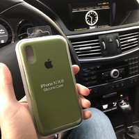 Used Silicone case cover iphone Xs in Dubai, UAE