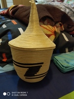 Used Handmade Tutsi basket from Rwanda in Dubai, UAE