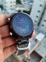 Used NAVIFORCE Steel Watch } Original in Dubai, UAE