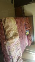 Used King-sized bed + mattress + nightstand in Dubai, UAE