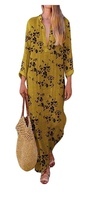 Used 2 pcs Women's Long Sleeve V-Neck Dress in Dubai, UAE
