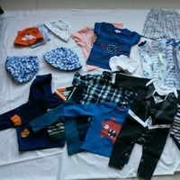 Used Baby Boy Clothes 3-6 Months 44 Items in Dubai, UAE