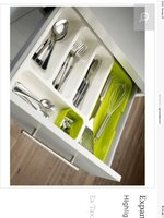 Used Cutlery expandable tray in Dubai, UAE