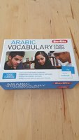 Used Arabic Vocabulary study cards 1000 cards in Dubai, UAE
