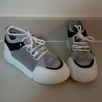 Used New suede leather sneakers in Dubai, UAE