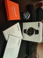 Used Fossil Q Founder Gen2 SmartWatch Leather in Dubai, UAE