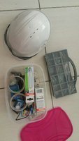 Used Miscellaneous Toolbox Kit With Hard Hat in Dubai, UAE