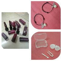 Used Lipstick & Luminous Bracelet & Lens Kit in Dubai, UAE