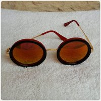 Summer sungglass fashion red brown new