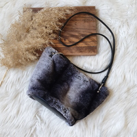Used Zara faux fur bag in Dubai, UAE