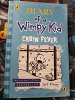 Used Rare diary of wimpy kid (Cabin Fever) in Dubai, UAE