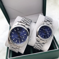 Used ROLEX COUPLES WATCHES WITH BOX SILVER BL in Dubai, UAE