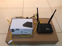 Used Router and tv box for sale  in Dubai, UAE