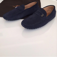 Worn Once Tods Loafers Size 5 Uk Eu 40 , Made In Italy , Authentic