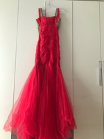 Used Red engagement dress  in Dubai, UAE