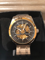 Gucamel Men's Watch Gold/White