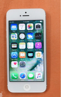 Used urgent FOR SALE IPHONE 5  16GB   SILVER  in Dubai, UAE