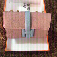 Used Hermes pink bag  first class copy  in Dubai, UAE