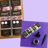 Used 2 Set of Eyebrow Extensions/ Brown  in Dubai, UAE
