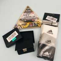 Used Card wallet + key ninja + adidas socks 3 in Dubai, UAE