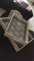 Small table top trays