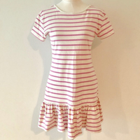 Boutique Pink Striped Dress