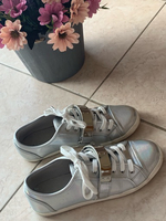 Used Aldo holographic silver shoes  in Dubai, UAE