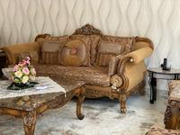 Used Engraved Living room with marble tables in Dubai, UAE