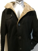 Fashionable black men jacket size Xl